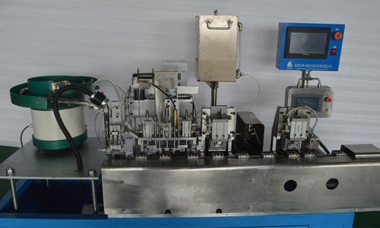 FYH-350usb自动剥线浸锡焊锡机细节图