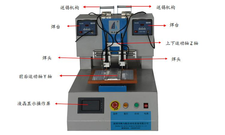 FYH-U-320 LED模组自动焊锡机功能介绍